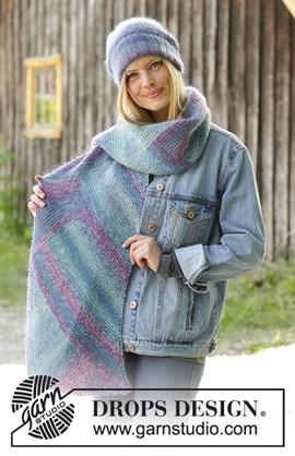 Breipatroon voor een muts en sjaal met ....