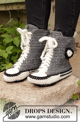 Cool kicks, haakpatroon sloffen in de ....