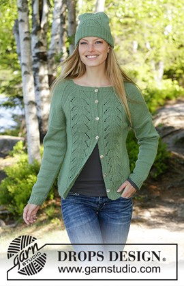 Green Luck, breipatroon dames vest in ....