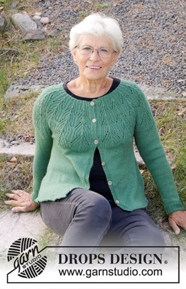 Breipatroon Green Echo Jacket, ....