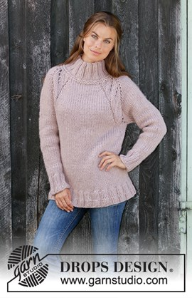 Warm Fall, breipatroon dikke dames trui ....