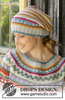 Winter Carnival Hat, breipatroon ....