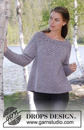 Breipatroon Agnes sweater, damestrui ....