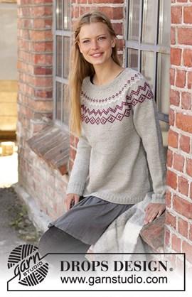 Breipatroon old mill pullover, ....