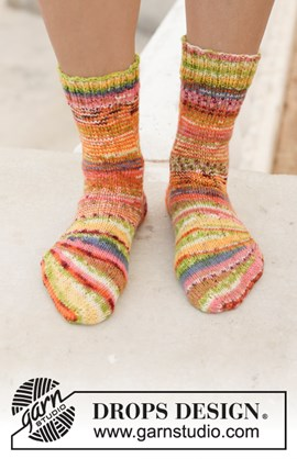Breipatroon country fair socks, ....