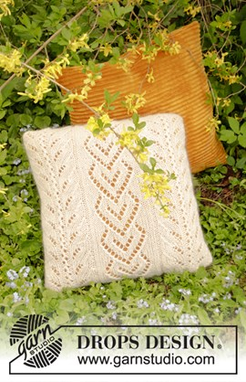 Breipatroon kussen The Pearl Pillow met ....