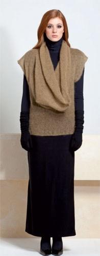 Gebreiden trui met korte mouwen en ....