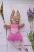 Breipatroon Rosa het konijn, eenvoudig ....
