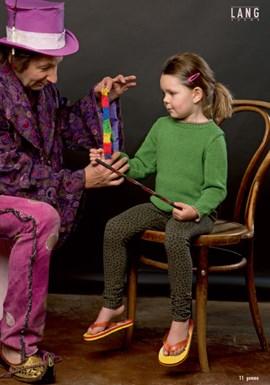 Gebreide trui die in vele kleuren ....