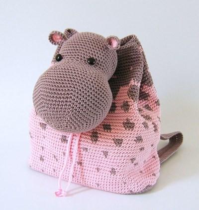 d8d7c963f9e Haakpatroon Rugzak nijlpaard
