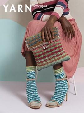 Breipatroon luxe tas met klipsluiting ....