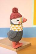 Haakpatroon papegaaiduiker Bonny, ....