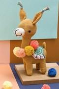 Haakpatroon Alpaca Marcia, gemaakt van ....