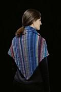 Breipatroon driehoekige sjaal met ....