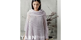 Haakpatroon Jasmine Poncho with Cowl, ....