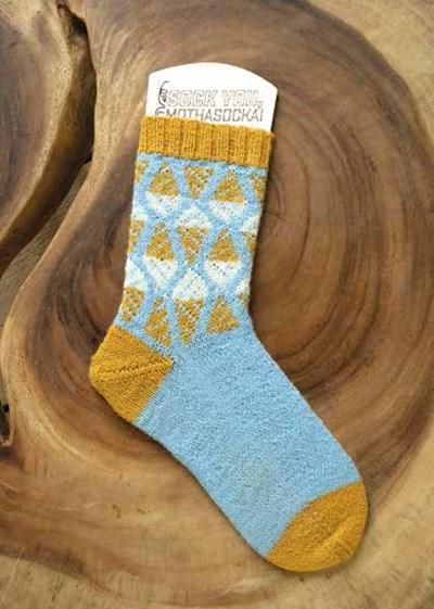 Breipatroon Sokken met ijsjes