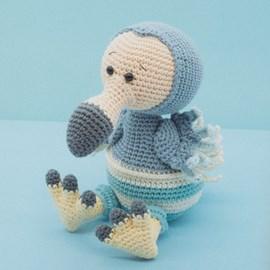 Haakpatroon George de dodo die zo graag ....