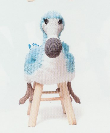 Haakpatroon Dodo kruk Douwe