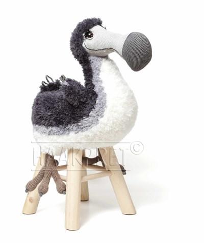 Haakpatroon Dodo kruk Dorus