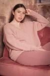 Breipatroon trui voor dames van andere kant