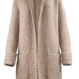 lang Yarns Lang yarns breipatroon no plain Jane, damesvest met zakken en dubbel geslagen manchetten. Dit lange vest is gemaakt van het garen Lang Yarns Wooladdicts air.