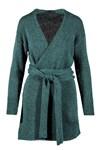 Breipatroon Vest voor dames van andere kant
