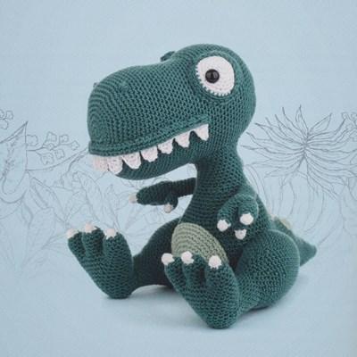 Haakpatroon T-rex
