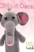 Haakpatroon olifant Odessa, handpop ....