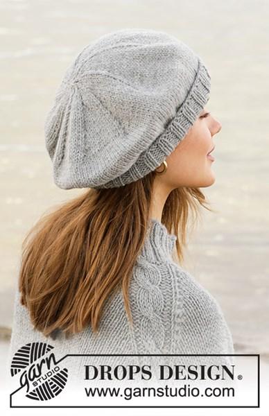 Breipatroon Dames baret