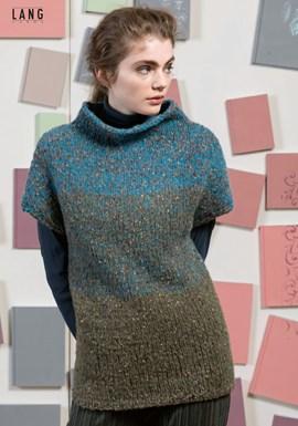 Breipatroon trui met korte mouwen en ....