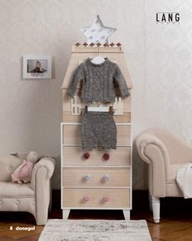 Breipatroon baby trui met kabelpatroon, ....