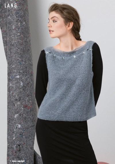 Breipatroon Mouwloos hemd