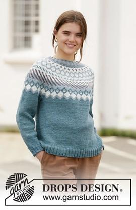 Breipatroon damestrui Crisp Air Sweater ....