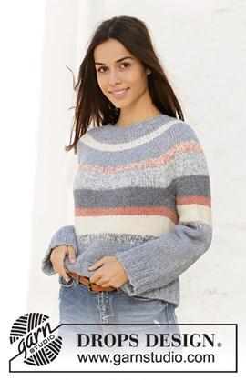 Breipatroon damestrui Sailors Sweater ....