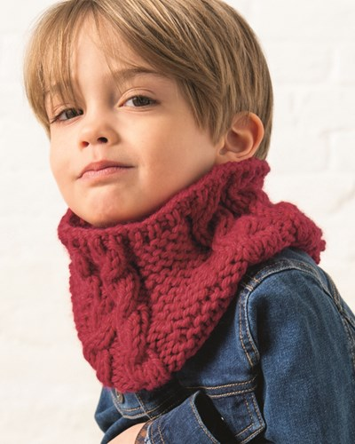 Breipatroon Kinder sjaal