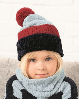 Breipatroon kindersjaal/snood Olaf, ....