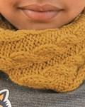 Breipatroon Kinder sjaal van andere kant