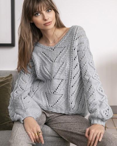Brei- en haakpatroon Dames trui
