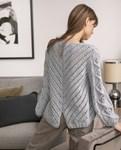 Brei- en haakpatroon Dames trui van andere kant