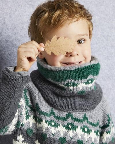 Breipatroon Snood voor kinderen