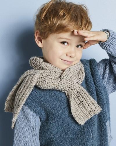 Breipatroon Sjaal voor kinderen