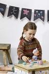 Breipatroon Kinder trui van andere kant