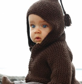 Breipatroon babyschoentjes met enkel ....