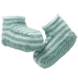 Gestreepte sokjes, passend bij patroon ....