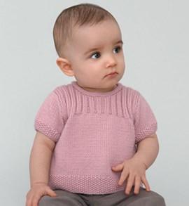 Erg schattig baby truitje met korte ....