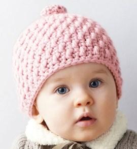 Haakpatroon babymutsje van het garen ....