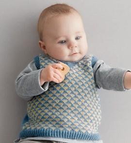 Breipatroon baby spencer met een ....
