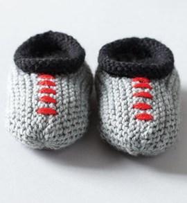 Breipatroon babyslofjes met boordje van ....