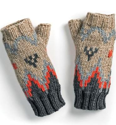 Breipatroon Handschoenen zonder vingers