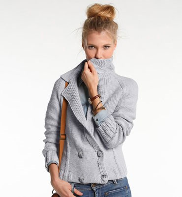 Breipatroon Bloeson Jacket